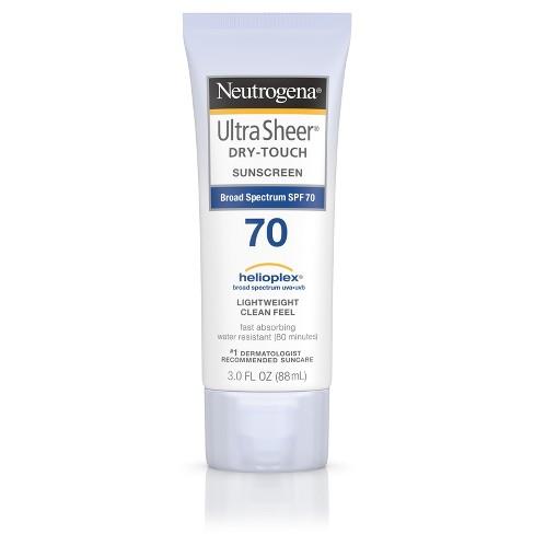 neutorgena dry touch sample