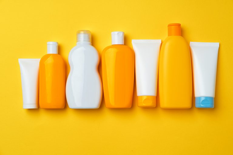 Collection of sunscreen