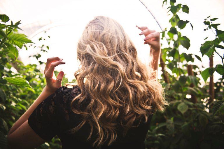 hair in sun