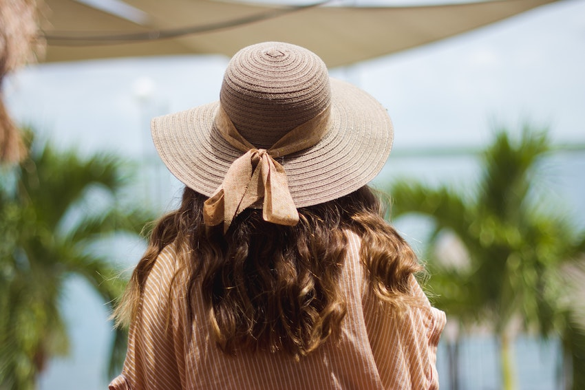 hat to protect hair from sun